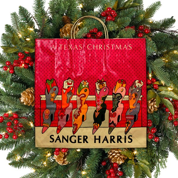 Sanger Harris A Texas Christmas Boots Hung By The Chimney With Care