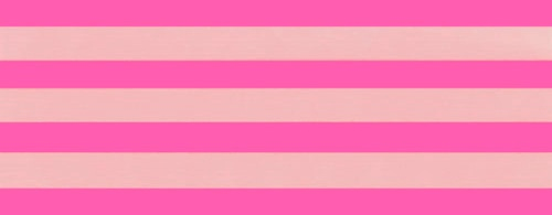 Cotton ribbon: bubblegum and shell pink stripes