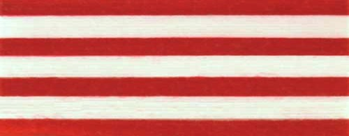 Cotton Ribbon: red and white stripes