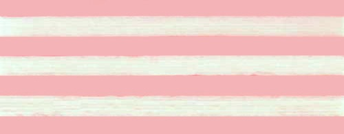 Cotton ribbon:  pink and white stripes