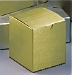 Gold Linen Foil 1-Piece Giftware Box