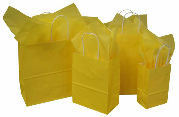 Buttercup Paper Shopping Bags
