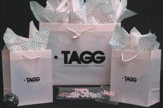 Pink Plastic Euro Shopping Bag