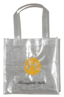 Sparkling Clear Woven PP Tote Bag