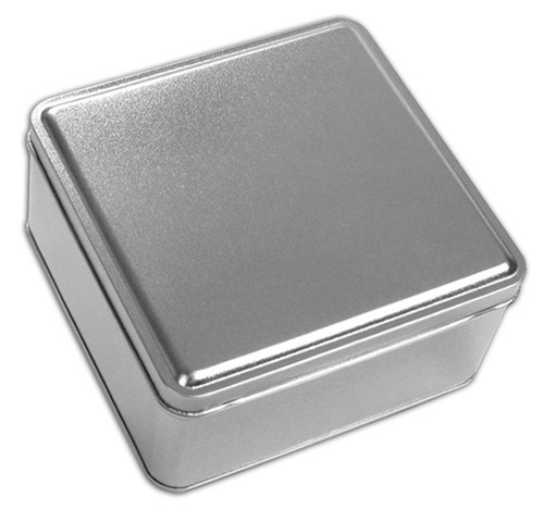 Platinum Square Tin
