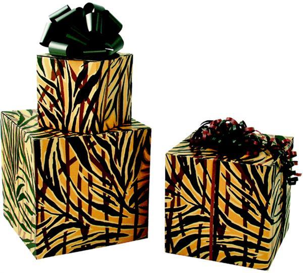 Tiger Stripe Boxes