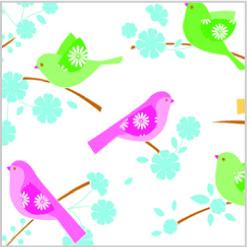 SONG BIRDS Tissue Paper