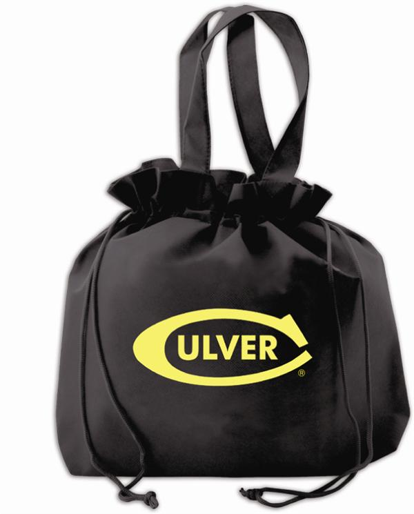 Universal Tote with Drawstring Closure Cinched