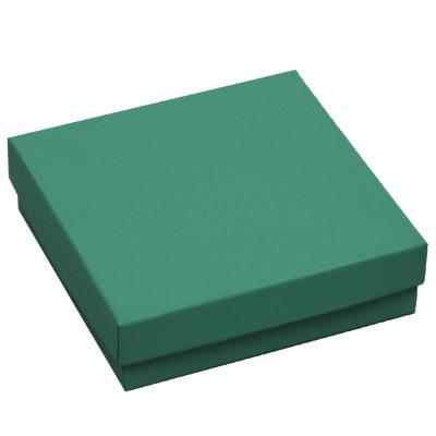 2-Piece Jewelry Boxes, Padded - Jade / Aqua Exterior