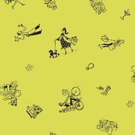 City Collection Tissue Paper - Lemon Grass / Pistachio