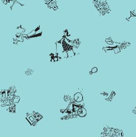 City Collection Tissue Paper - Aqua Blue
