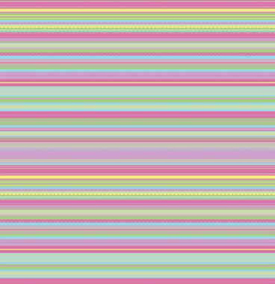 Easter Stripe Patterned Gift Wrap