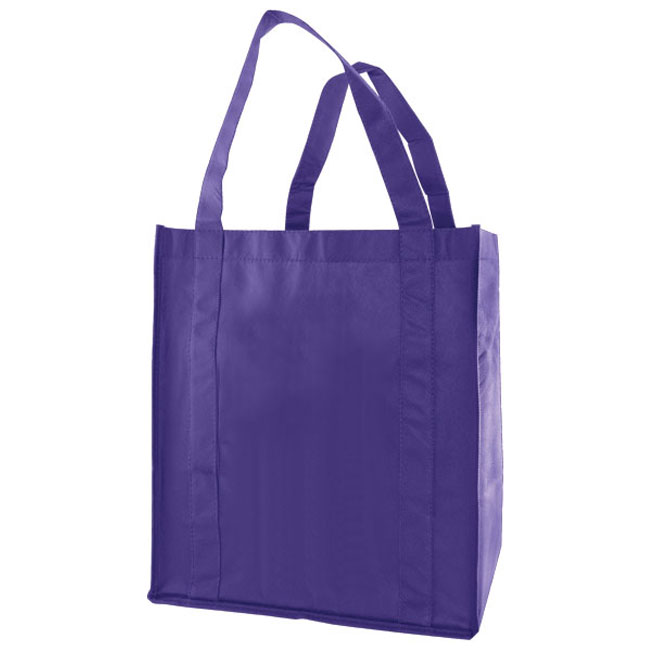 """Grocery Tote, Royal Blue, 12"""" x 8"""" x 13"""", 20"""" Handle"""