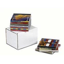 Corrugated CD / DVD Mailers, E-Z Strip & Ship