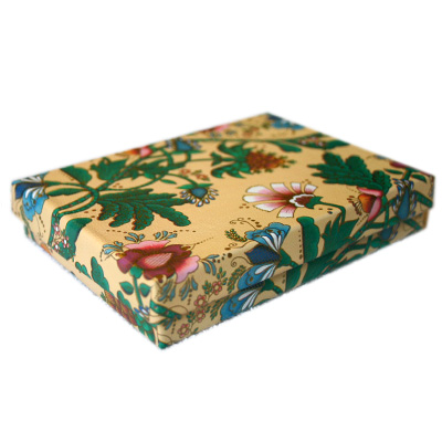2-Piece Jewelry Boxes, Padded - French Floral
