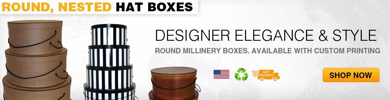Round Hat Boxes