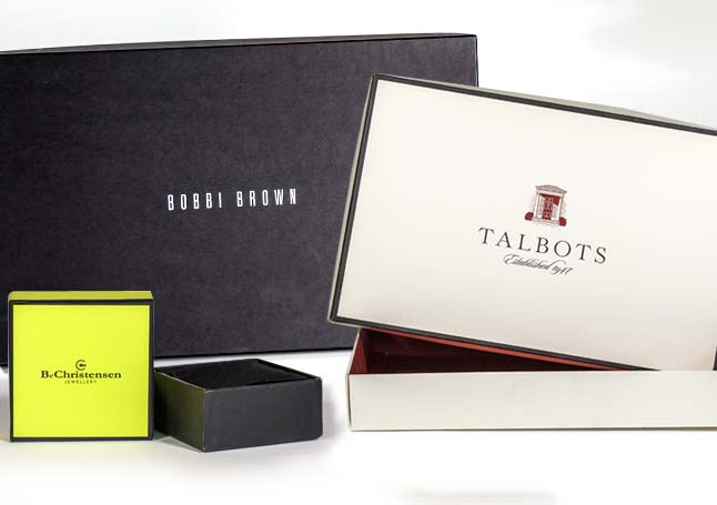 Custom boutique boxes