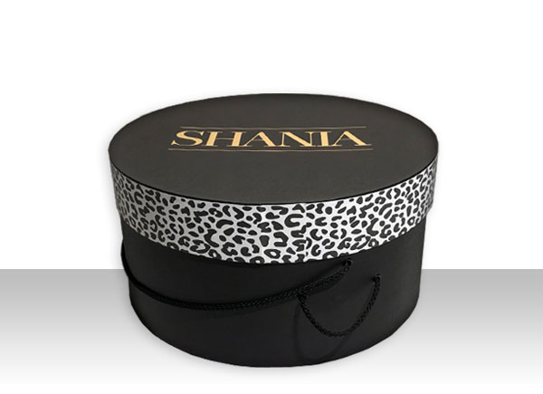 round boxes shania promotion