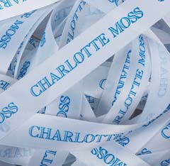 Custom Imprinted Personalized Satin Ribbon Double or Single Face