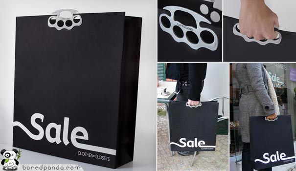 Steel Knuckles Shopping Bag