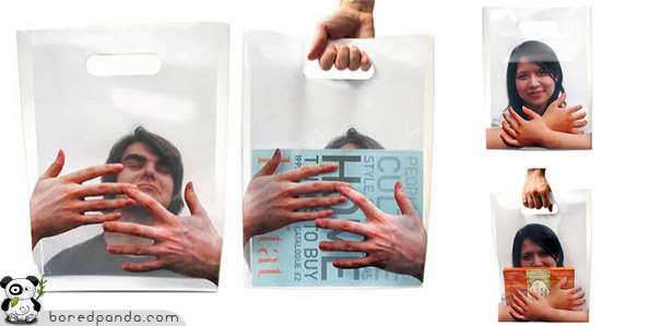 Hands On Shopping Bag