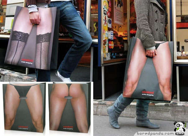 Mens and Womens Shopping Bag