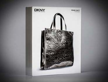 DKNY Custom Corrugated Box Mirco Fluting