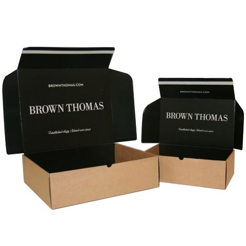 designer corrugated mailers for ecommerce retail shipping