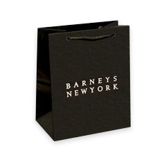 Custom Barney's European Shopping Bags
