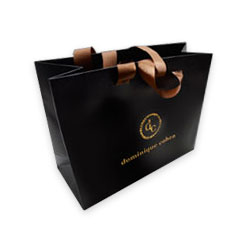 custom paper shopping bags Custom paper bags with an unbeatable selection of sizes, shapes and colors add your logo, name or design to promote brand awareness pro design available.