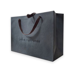Custom John Varvatos European Shopping Bags