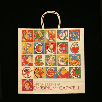 Capwell Christmas Bag