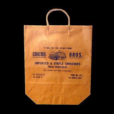 Chicos Bros. Groceries Bag