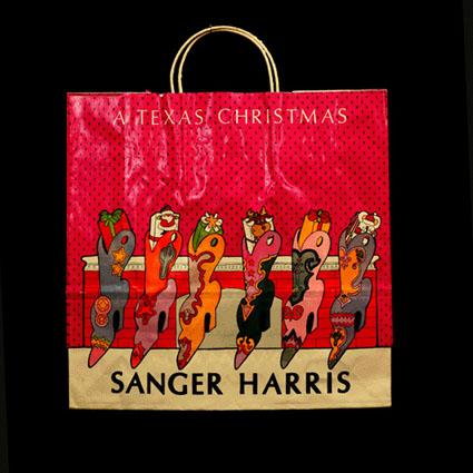 Christmas Stockings Shopping Bag