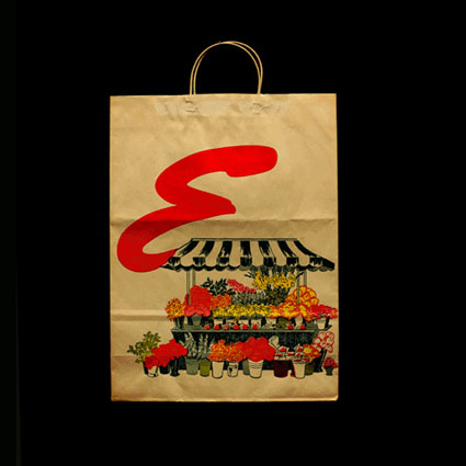 Flower Stand Shopping Bags