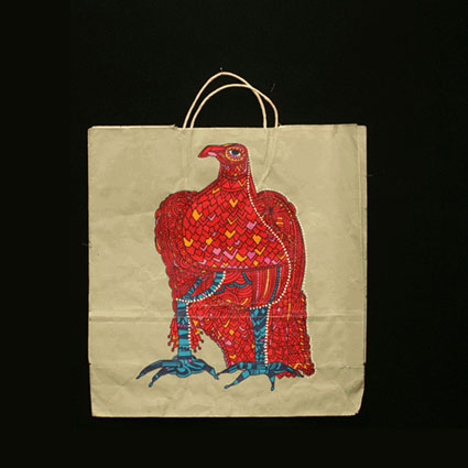 John Wanamaker Bird Bag