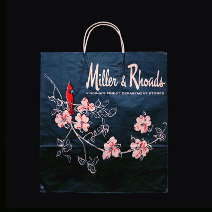 Miller & Rhoads Shopping Bag