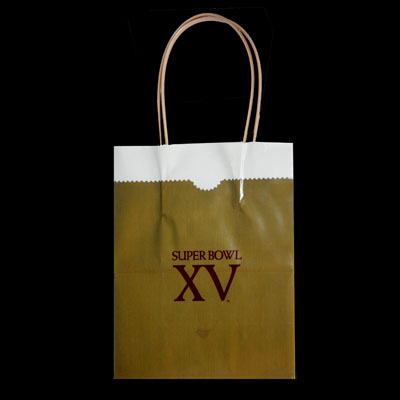Super Bowl XV Bag