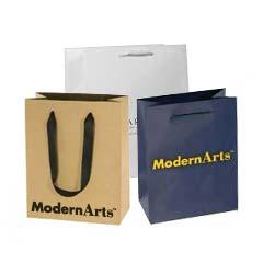 Custom Printed Euro Tote Shopping Bags