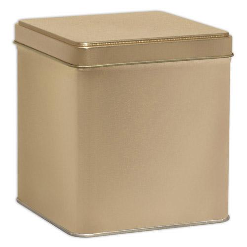 Gold Square Tin