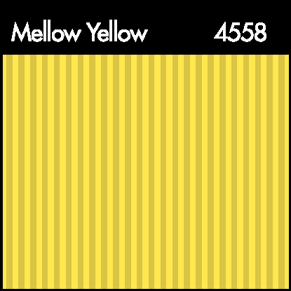 Mellow Yellow Shadow Stripe Color Swatch