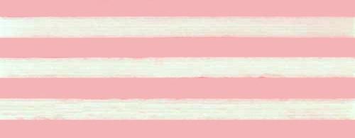 Cotton ribbon:  pink and white stripes