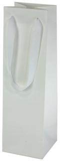 Bottle Bag: 30% Recycled Euro Style - White