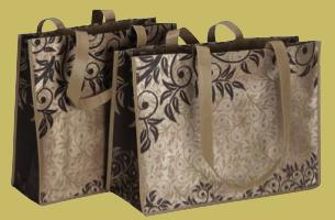 Reusable Nonwoven Poly Bag - Sumatra Print