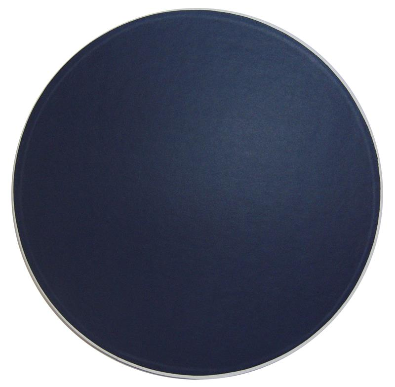 Navy Blue with White Trim Hat Box lid