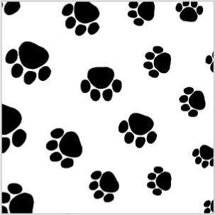 Puppy Paws Tissue Paper