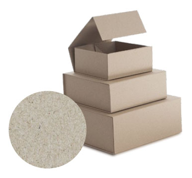 Natural Kraft Folding Retail Boxes with Magnetic Snap Closures