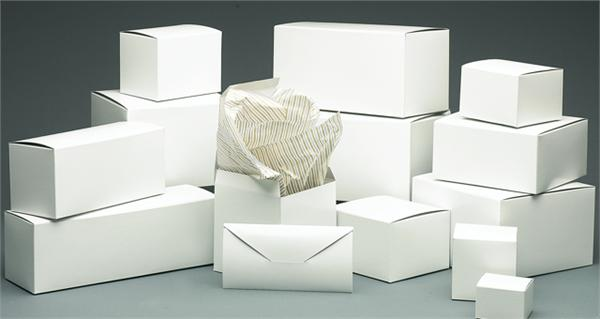 Giftware Boxes-1-Piece Pop-Up Quick Lock  -  Great White