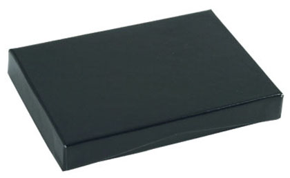 100% RECYCLED Presentation Box for Gift Cards - Gloss Black