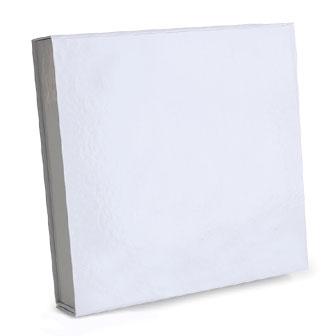 White Glossy - 9-1/4 x 9-1/2 x 1-3/4